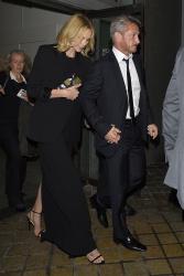 Sean Penn - Charlize Theron and Sean Penn - seen leaving Royal Festival Hall. London - February 16, 2015 (153xHQ) OkqMRNRa