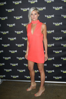 Eliza Coupe - Happy Endings Reunion at the 2016 Vulture Festival in NYC 5/22/16