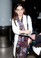 Emilia Clarke - at LAX Airport 3/19/13