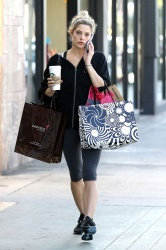 Ashley Greene shopping at Urban Outfitters Sept. 25,