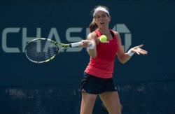 Johanna Konta - 2015 US Open Day Two: 1st Round vs. Louisa Chirico @ BJK National Tennis Center in Flushing Meadows - 09/01/15