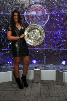 Marion Bartoli - at the Wimbledon Championships 2013 Winners Ball   in London (July 7)
