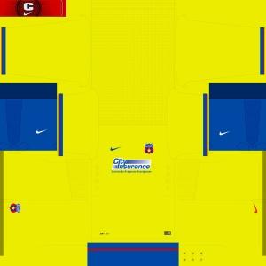Steaua Away 2014-2015 Kits by Attila74
