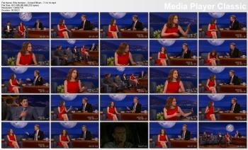 Ellie Kemper - Conan O'Brien - 7-14-14