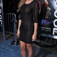Ashley Tisdale at the Premiere of Footloose in Los Angeles on October 3, 2011