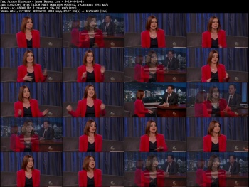 Alyson Hannigan - Jimmy Kimmel Live - 3-25-14