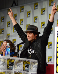 Paul Wesley - Ian Somerhalder,   Nina Dobrev,  Paul Wesley,  Katerina Graham,  Matthew Davis - 'The Vampire Diaries' panel during Comic-Con International 2014 at San Diego Convention Center in San Diego (July 26, 2014) - 101xHQ CzLI7YJf
