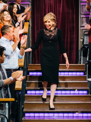 Christine Baranski - The Late Late Show with James Corden: April 4th 2017