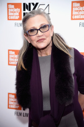 Carrie Fisher - Bright Lights Photocall at the 54th New York Film Festival @ Alice Tully Hall in NYC - 10/10/16