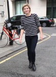 Jodie Whittaker - outside BBC Radio Studios 2 in London 8/12/17