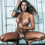 Gatas QB - Anna Gomes Frontal Mag (Revista Frontal) Dezembro 2013