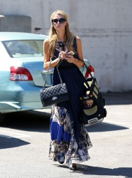 Paris Hilton At Pilate Class In Los Angeles 28 april 2014
