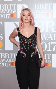 Zara Larsson - The Brit Awards, Arrivals, O2 Arena, London - February 22nd 2017