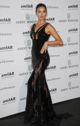 Irina Shayk - 2015 amfAR Intimate Dinner in Paris 7/5/15