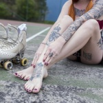 the4um.com.mx | SuicideGirls Bruna Bruce How to Roller Skate