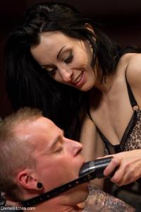 Tags: BDSM, Femdom, Humiliation, Strapon
