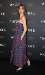 Lindsey Wixson - Paris Fashion Week Spring/Summer 2016: Vogue 95th Anniversary Party Photocall @ 51 Avenue d'Iena in Paris - 10/03/15