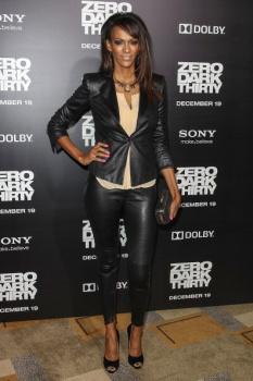 "Judi Shekoni en premiere de ""Zero Dark Thirty""-Los Angeles ..."