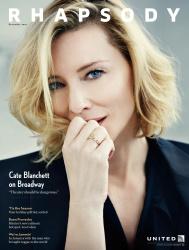 Cate Blanchett - Rhapsody Magazine December 2016