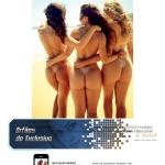Gatas QB - As Belas da Praia (Veridiana Freitas, Fernanda Lacerda e Aricia Silva) Playboy Brasil Janeiro 2014