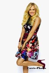 Carrie Underwood Redbook photoshoot