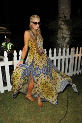 Paris Hilton At Coachella Valley Music & Arts Festival Weekend 2 - Day 2 April 19-2014