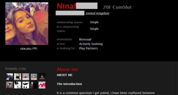 Nina Toubale, Nina Dellis, Viktorija Pociute, London UK, London England, Backpage, Borough UK, Brothels, Strippers, Borough England,  Escorts, Strip Clubs, BDSM, S&M, Sex, Bondage, Anal Sex, Paris France, Pontoise France, Antwerp Belgium, Oxford England, Oxford UK, Brighton UK, Brighton England, Watford UK, Kingston UK, Mitcham UK, Twickenham UK, Fulham UK, Romford UK, University of Brighton Media Studies, University of Sussex