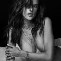 Alessandra Ambrosio - Jacquie Aiche Jewelry (Summer 2017)