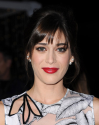 Lizzy Caplan - The Night Before Premiere @ The Theatre at The Ace Hotel in Los Angeles - 11/18/15