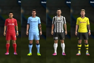 Download PES 2013 Facepack with Tattoes by Fox