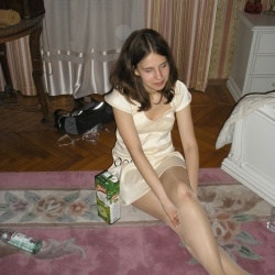 candids in pantyhose