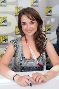Milana Vayntrub at Comic Con in San Diego - July 9, 2015