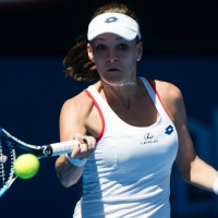 Agnieszka Radwanska Second round of the 2015 Australian Open January 22-2015 x3