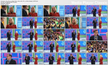 Carrie Keagan - behind the scenes of The Price Is Right with Drew Carey