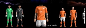 Download PES 2013 Netherland GDB World Cup 2014 by Marcello