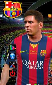 Download PES 2014 Kit FC Barcelona by TheBluesCE