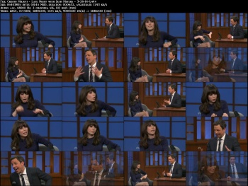 Cristin Milioti - Late Night with Seth Meyers - 3-26-14 (leggy in SHORT skirt)