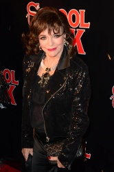 Joan Collins - School Of Rock Broadway Opening Night @ the Winter Garden Theatre in NYC - 12/06/15