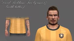Download David Beckham Face PES14 by amir27