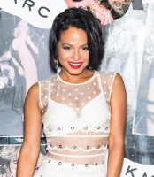 Christina Milian - Sheer Dress At Gloss: The Work Of Chris Von Wangenheim Book Launch Party in NY (9/10/15)
