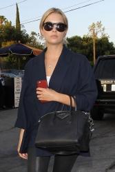 Ashley Benson - At Terrine restaurant in LA 7/29/15