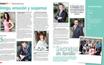 Telenovelas y Revista: Secretos de Familia - Estilo DF magazin