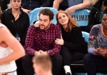Jessica Chastain - at a Knicks game 2/6/17