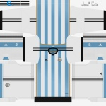 Download Argentina FIFA World Cup 2014 Kits by Jean ... 2a7f8c8e8