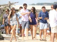 Nina Dobrev with her boyfriend Austin Stowell in Saint-Tropez (July 24) 3VKk09at