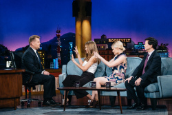 Kate Mara - The Late Late Show with James Corden: November 30th 2016