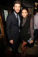 Nina Dobrev and Austin Stowell at NYMag, Vulture + TNT Celebrate  The Premiere Of 'Public Morals' (August 12) DouPB0Az