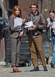 Карен Гиллан, фото 204. Karen Gillan - Set of 'Not Another Happy Ending' in Glasgow, Scotland - 7/20/12, foto 204