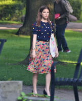 Anna Kendrick -            ''A Simple Favor'' Set Toronto August 17th 2017.