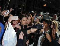 Ian Somerhalder - Arriving at Live with Kelly and Michael in NYC (March 13, 2013) - 18xHQ DEUDnWpp